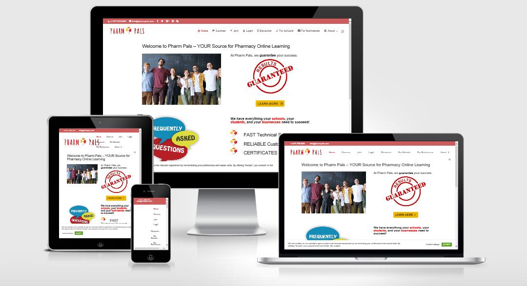 Pharm Pals (Website Design)