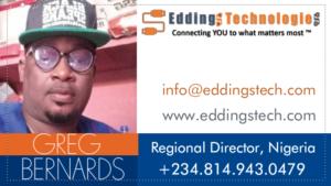 greg bernards business card mockup